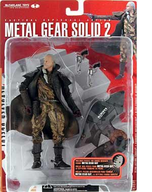 Picture of McFarlane Metal Gear Solid 2 Revolver Ocelot Figure (B000WETKM8) (McFarlane Action Figures)