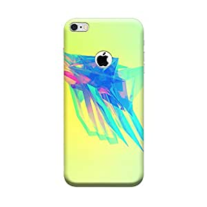 Ebby Premium Printed Mobile Back Case Cover With Full protection For Apple iPhone 6 with Hole (Designer Case)