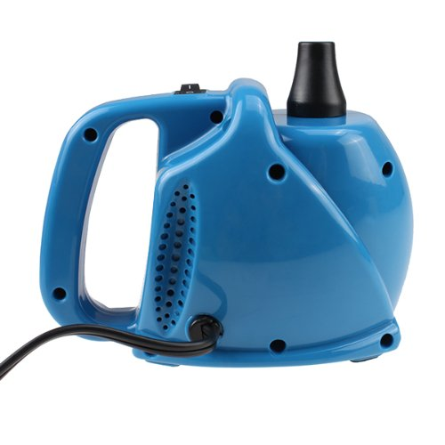 Agptek® 300W 14000Pa Single Nozzle Electric Balloon Inflator Pump Portable Blue Air Blower (Manual + Automatic Modes)