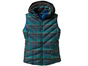Patagonia Down With It Womens Gilet - M, Multicoloured (Headlands Plaid: Forge Gr)