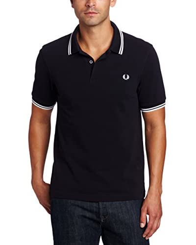FRED PERRY Negro XL