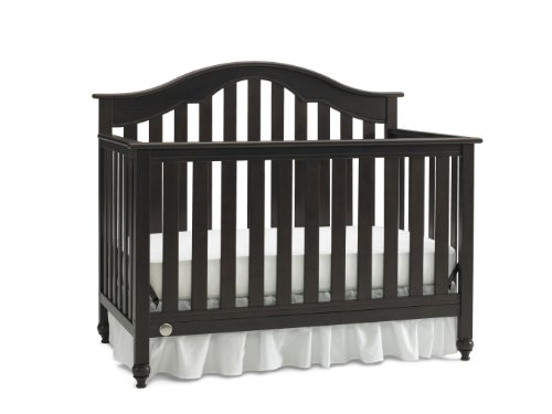 Fisher-Price Kingsport 5-In-1 Convertible Crib, Espresso front-108465