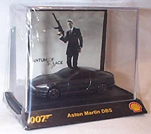 James bond 007 5 piece shell promotions set comes with 5 cars 1.64 scale diecast model