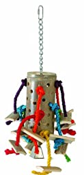 Paradise Bamboo Spider Pet Toy, 6 by 15-Inch