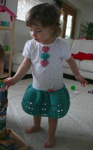 Crochet pattern tutorial how to make a dress out of a T-shirt (T 01) (Tutorials)