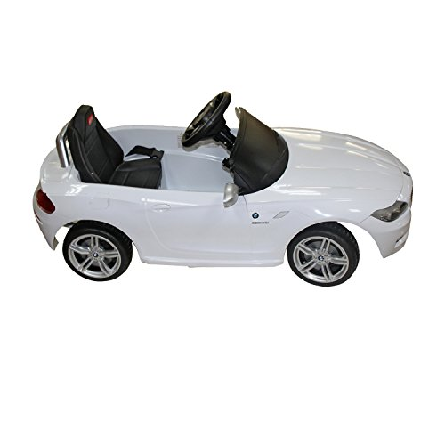 buy aosom bmw z kids v electric ride on toy car parent buy aosom bmw z4 kids 6v electric ride on toy car parent remote control white online at low prices in in