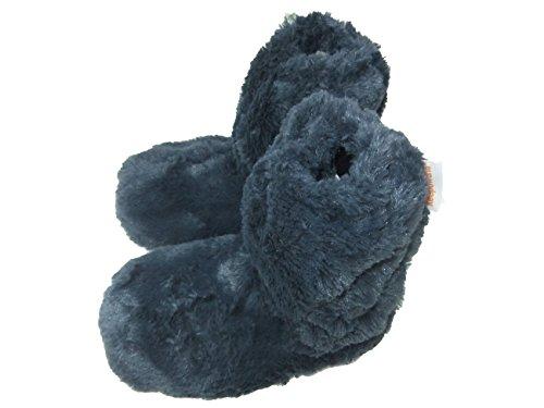snuggles-peludo-microondas-zapatillas-talla-4-7-mujer-calentador-calentadores-de-pies-color-azul-tal