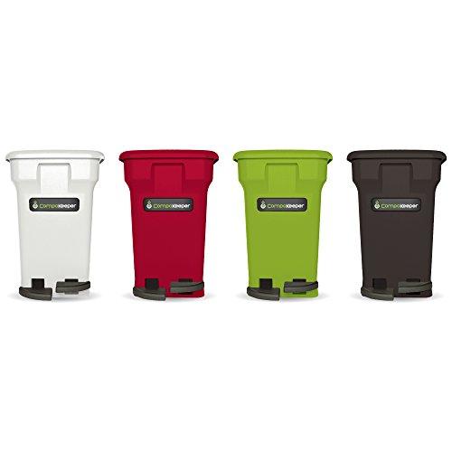 Green Kitchen Bin: CompoKeeper Kitchen Compost Bin, Green, 6 Gallon Home
