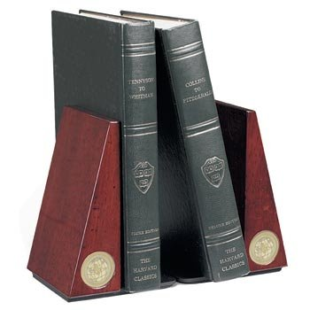UCLA - University of California - Los Angeles - Pair of Rosewood Bookends