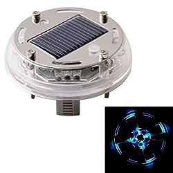 See 4 pcs Solar LED Car Wheels Lamp Decorative Lights Colour Details