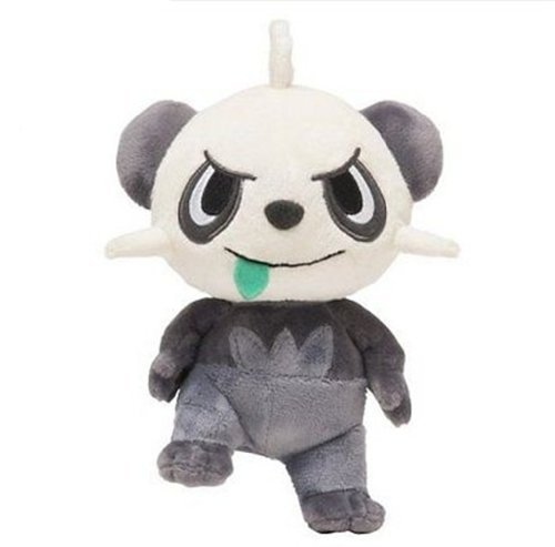 "Pokemon XY Pancham 19cm / 7.5"" Soft Plush Stuffed Doll Toy - 1"