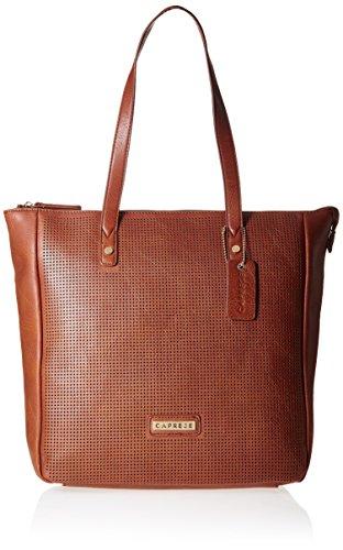 Caprese-Womens-Tote-Bag-Saddle-Brown