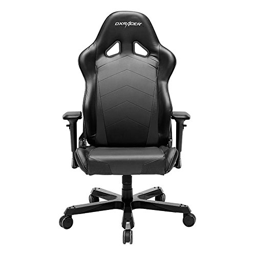 DXRacer-Tank-Series-DOHTC29-Big-and-Tall-Chair-Racing-Bucket-Seat-Office-Chair-Gaming-Chair-Ergonomic-Computer-Chair-eSports-Desk-Chair-Executive-Chair-Furniture-With-Pillows-BlackBlue