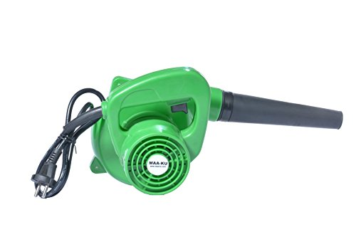 Small Portable Best Multifunctional Lightweight Handheld Electric Vacuum High Speed Rotary Air Blower Fan Machine for Domestic Home and Industrial Cleaning. Color-Green. MAA-KU