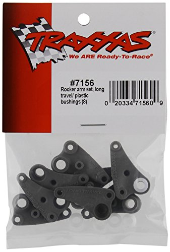 Traxxas 7156 Rocker Arm Set, Long Travel, Plastic Bushings, Set of 8