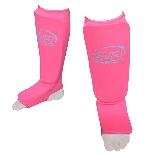 MEDIUM NEON PINK Muay Thai Kickboxing Karate Shin & Instep