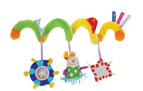 Taf Toys Kooky Spiral Stroller Toy Wraps Around Most Infant Carriers and Stroller Bars - 1