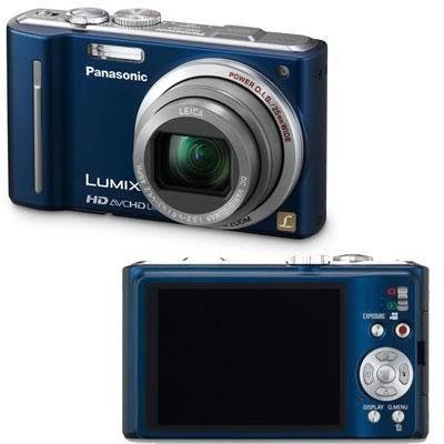 Panasonic Lumix DMC-ZS7 12.1 MP Digital Camera with 12x Optical Image Stabilized Zoom and 3.0-Inch LCD (Blue)