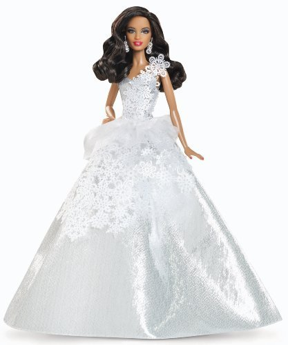 Barbie Collector 2013 Holiday African-American Doll by Mattel TOY (English Manual)