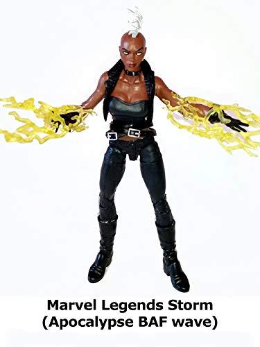 Clip: Marvel Legends Storm (Apocalypse BAF wave)