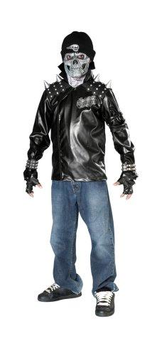 Metal Skull Biker Rider Costume
