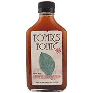 Tomr's Handcrafted 200 ml Tonic Artisanal Quinine Syrup Concentrate