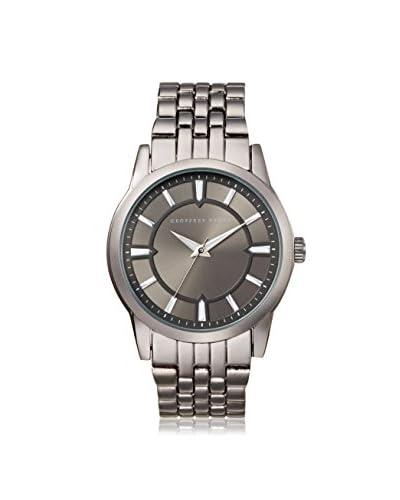 Geoffrey Beene Men's GB8018GU Metal/Gun Stainless Steel Watch