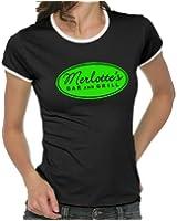 Merlotte`s - True Blood Girlie Ringer T-Shirt S-XL div. Farben