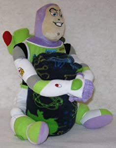 Toy Story Buzz Lightyear Plush and Throw Blanket Set