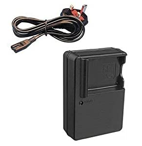 Mains Battery Charger for Panasonic Lumix DMC-FS14, DMC-FS16, DMC-FS18, DMC-FS22, DMC-FS35, DMC-FS37, DMC-FX77, DMC-FX78, DMC-FX90, DMC-S1, DMC-S2 and DMC-S3 Digital Camera - Replacement for Panasonic Quick Charger DE-A91B and DE-A92B for DMW-BCK7 and NCA-YN101G Battery - AAA Products®