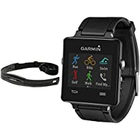 Garmin Vivoactive GPS-Enabled Fitness Smartwatch with Heart Rate Monitor