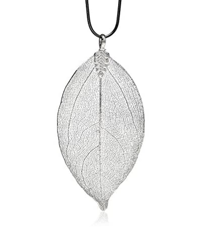 Ana Natural Leaves Colgante HD023 Plata
