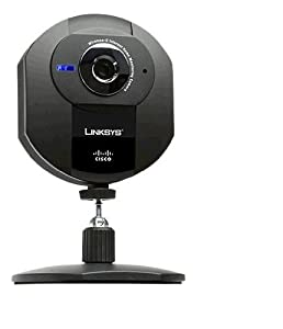 Linksys Wireless-G Internet Home Monitoring Camera Wvc54gca - Videocamera Di Rete - Colore - Audio - 10/100, 802.11b, 802.11g