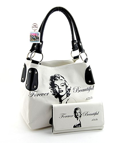 Marilyn Monroe Purse Wallet Set