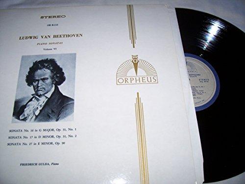Ludwig Van Beethoven Piano Sonatas Volume VI Sonata No. 16 in G Major, Op. 31, No. 1/ Sonata No. 17 in D Minor, Op. 31, No. 2/ Sonata No. 27 in E Minor, Op. 90 (Friedrich Gulda Beethoven Sonata compare prices)