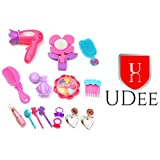 UDee Stylish Little Princess Fashion Beauty Set For Girls With Hair Dryer & Accessories