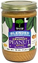 Tree Of Life Nut Bttr Pnut Crhy Blnd Org 16 OZ