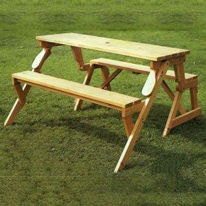 A Bench Picnic Table Converter