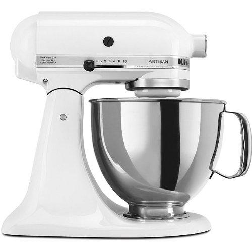 KitchenAid RRK150WH  5 Qt. Artisan Series - White (Certified Refurbished) (Bowl 5qt Kitchenaid compare prices)