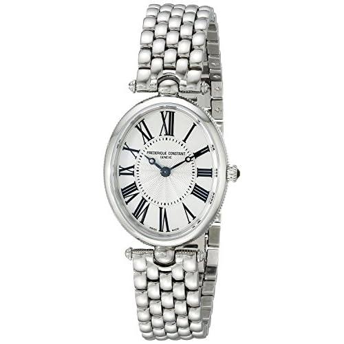 [フレデリックコンスタント]Frederique Constant 腕時計 Art Deco Analog Display Swiss Quartz Silver Watch FC200MPW2V6B レディース [並行輸入品]
