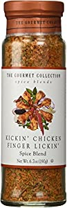 Kickin' Chicken Finger Lickin' the Gourmet Collection, Spice Blend 7.4oz.