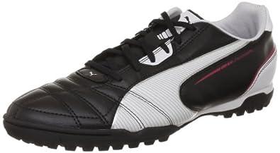 Puma  Universal TT Football Shoes Mens  Black Schwarz (black-white-ribbon red 02) Size: 5.5 (39 EU)
