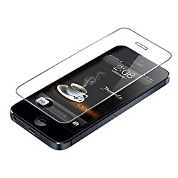 Celson Tempered Glass Screen Protector For Apple iPhone 5 5S