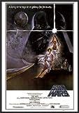Star Wars Poster A New Hope 24x36 Wood Framed Poster Art Print