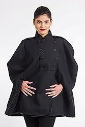 Fbbic Women's Coat (15032_Small_Black)
