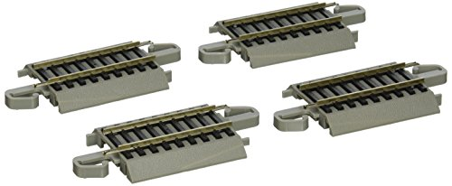 "Bachmann Trains Snap-Fit E-Z Track 2.25"" Straight Track (4/card)"