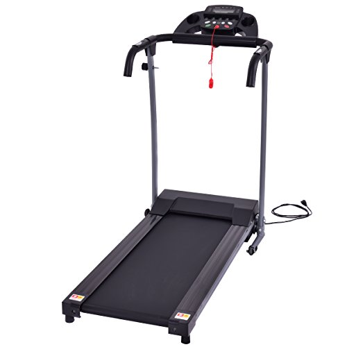 Goplus 800W Folding Treadmill Electric Motorized Power Portable Fitness Running Machine
