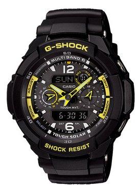 CASIO (カシオ) 腕時計 G-SHOCK(Gショック)「SKY COCKPIT(スカイコックピット)」 電波ソーラーマルチバンド6 GW-3500B-1 メンズ [並行輸入品]