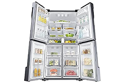 Samsung RF60J9090SL/TL Frost-free Side-by-Side Refrigerator (680 Ltrs, Stainless Steel)