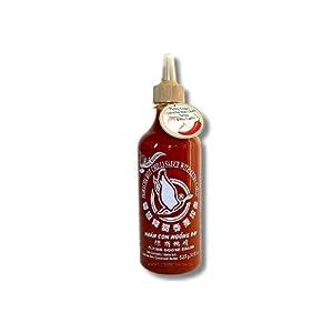 Flying Goose - Sriracha Scharfe Chilisauce mit Extra Knoblauch 455ml